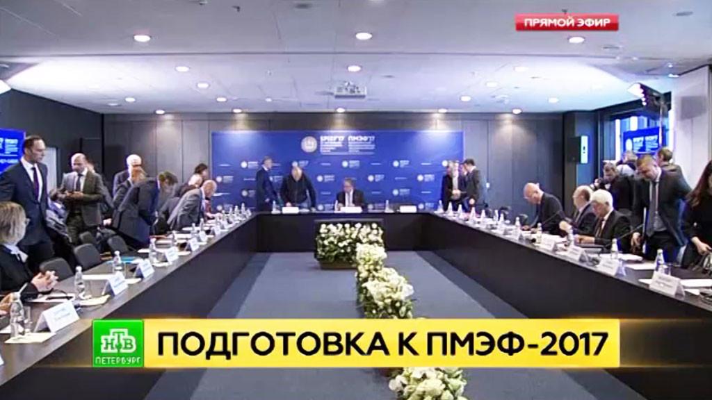 семинар для студентов-волонтеров, которые будут помогать организаторам Петербургского международного экономического форума