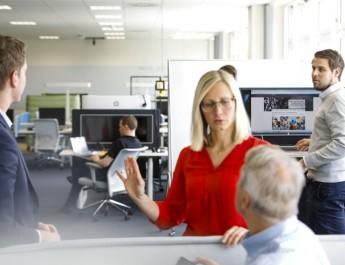 Компания MAN Truck & Bus создала инновационную концепцию офисной среды под девизом «MAN Future Lab»